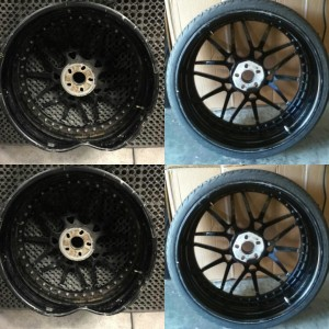 Wheel repair services