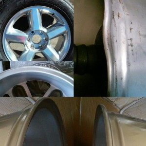 welding alloy wheel