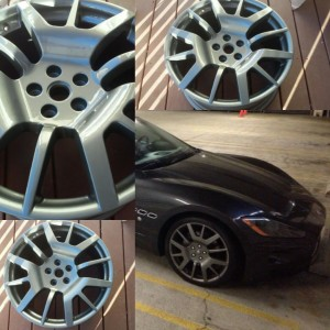powder coating wheel GA