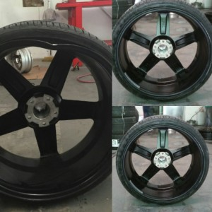 Bent wheel GA