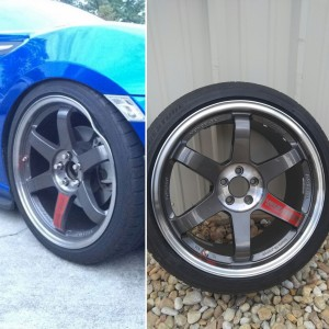 Bent wheel repair