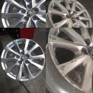 car wheel refinishing