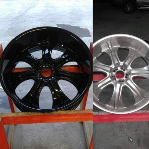 porsche wheel refinishing