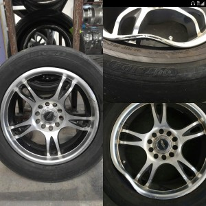 Wheel Straightening Services